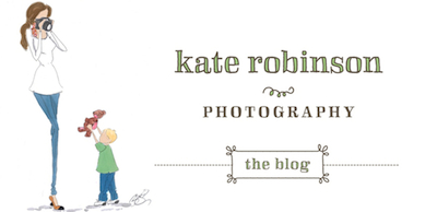 Kate Robinson Photography Blog logo